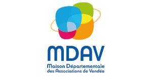 Logo MDAV : Maison déparementale des associations de Vendée