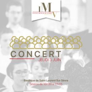 Affiche concert 3 Juin